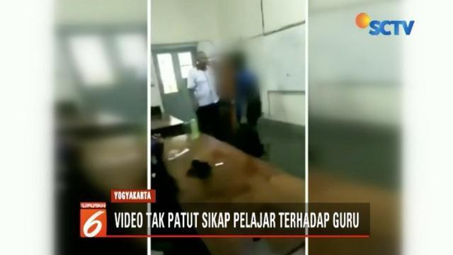 Viral, seorang siswa SMK di Yogyakarta dorong dan lawan guru karena tak terima telepon genggam disita.