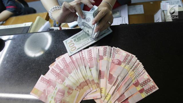 Nilai Tukar Rupiah Terhadap Dolar Sudah Masuk Level Undervalued