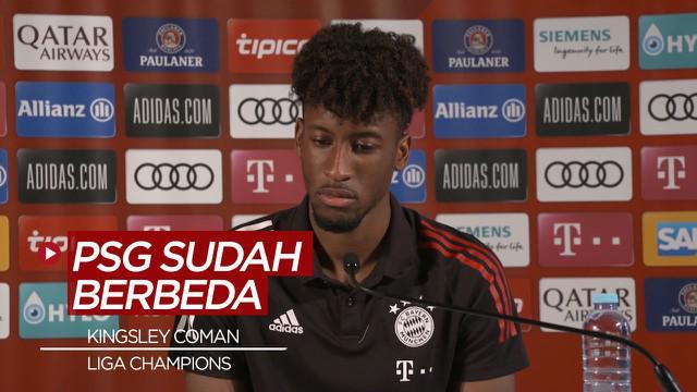 Berita Video Pendapat Kingsley Coman Soal PSG dan Bayern Munchen, Jelang Final Liga Champions