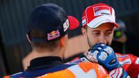 Direktur Ducati, Paolo Ciabatti, menilai penampilan buruk Andrea Dovizioso di Argentina, Brno, dan Phillip Island, jadi faktor utama penyebab dirinya gagal meraih gelar MotoGP 2017. (dok. MotoGP)