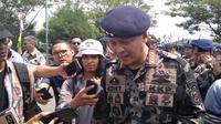 Menteri Kelautan dan Perikanan Edhy Prabowo melakukan kunjungan kerja ke Batam.