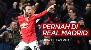 Berita video 6 pemain top yang terlupakan pernah di Real Madrid, termasuk gelandang Manchester United, Juan Mata.