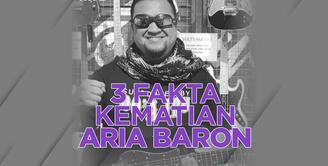 3 Fakta Kematian Aria Baron Eks Gitaris GIGI, Sempat Berjuang Lawan Covid-19