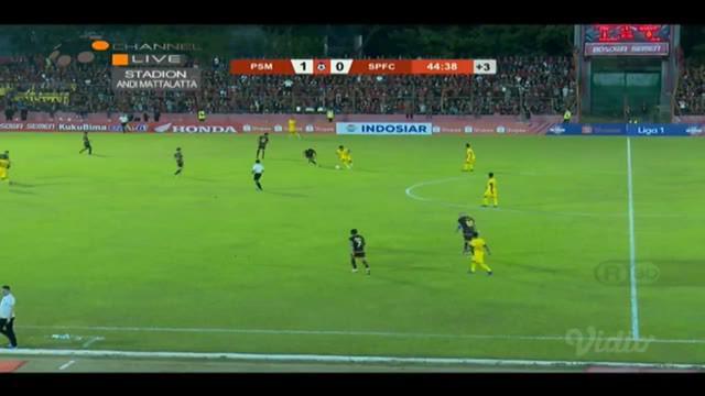Berita video momen gol Zulham Zamrun ke gawang Semen Padang yang berbuah kemenangan 1-0 PSM Makassar pada laga perdana mereka di Shopee Liga 1 2019, Senin (20/5/2019).