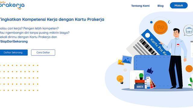 Situs Kartu Prakerja.