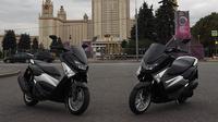 Yamaha NMax mendapat respon positif di Rusia (YIMM)