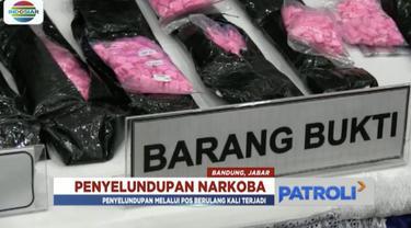 Direktorat Jenderal Bea dan Cukai Kota Bandung, kembali menggagalkan upaya penyelundupan narkotika asal luar negeri melalui jasa pos.