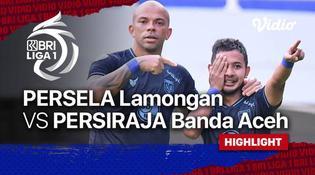 VIDEO: Gol Tunggal dari Gian Zola Bawa Persela Lamongan Raih Kemenangan atas Persiraja Banda Aceh di BRI Liga 1