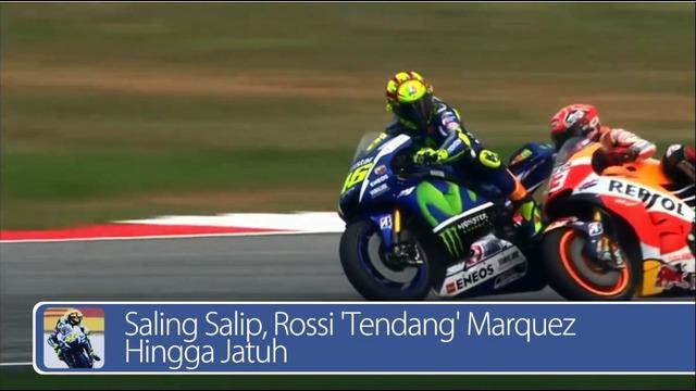Daily TopNews hari ini akan menyajikan berita seputar saling salip, Rossi 'Tendang' Marquez hingga jatuh dan sosis daging olahan bakal dinyatakan sebagai penyebab kanker. Saksikan video selengkapnya di sini