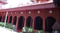 Bisikan gaib itu menyampaikan ide pembangunan Masjid Bata Merah berulang kali lewat mimpi. (Liputan6.com/Panji Prayitno)