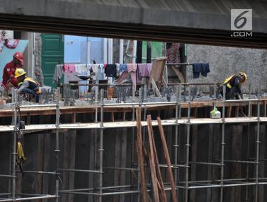 Pembangunan Tol Becakayu rute Casablanca-Cipinang Melayu Terus Dikebut