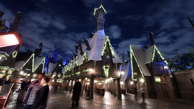 Menikmati Natal ala Dunia Harry Potter di Universal Studios Hollywood