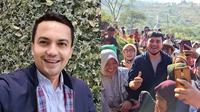 6 Momen Sahrul Gunawan Blusukan, Mantap Jadi Calon Wakil Bupati Bandung (sumber: Instagram.com/sahrulgunawanofficial)
