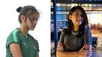 6 Gaya Trendi Zahra Muzdalifah, Pesepak Bola Putri Andalan Timnas (sumber: Instagram.com/zahmuz12)