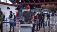 Penumpang di Bandara Soekarno Hatta. Dok AP II.