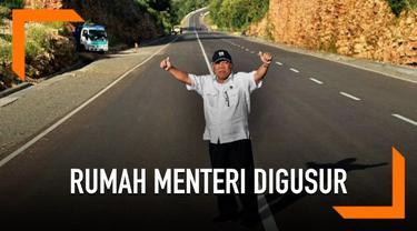 Kabar mengagetkan datang dari Menteri PUPR Basuki Hadimuljoeno, rumah pribadi Basuki akan digusur untuk proyek pembangunan jalan tol.
