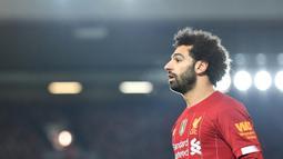 2018, 2017 : Mohamed Salah - Pemain asal Mesir berhasil menyabet penghargaan 2 tahun beruntun sebagai pemain terbaik Benua Afrika setelah bergabung dengan Liverpool. (AFP/Paul Ellis)