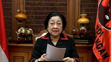Ketua Umum PDIP Megawati Soekarnoputri meresmikan Rumah Budaya PDIP. (Istimewa)