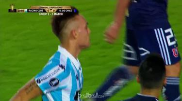 Racing Club pastikan lolos ke babak selanjutnya Copa Libertadores usai kalahkan Universidad de Chile dengan skor tipis 1-0. Tuan r...