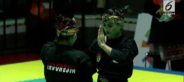 Pencak Silat nomor seni ganda putri dan tim putri berhasil menambah dua medali emas untuk Indonesia di Asian Games 2018