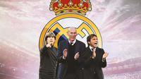 Real Madrid - Joachim Loew, Zinedine Zidane, Antonio Conte (Bola.com/Adreanus Titus)