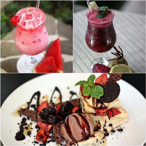 Menu dessert dan minuman/Foto: copyright Hotel Santika Premiere Malang