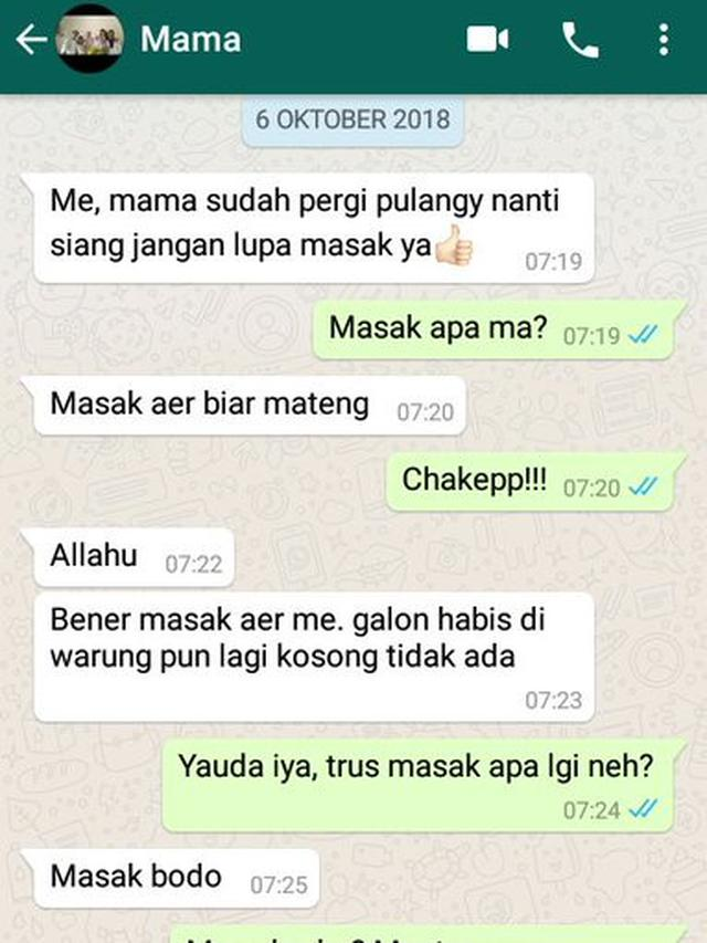 Download 47 Gambar Chat Lucu Bikin Ngakak Terbaru