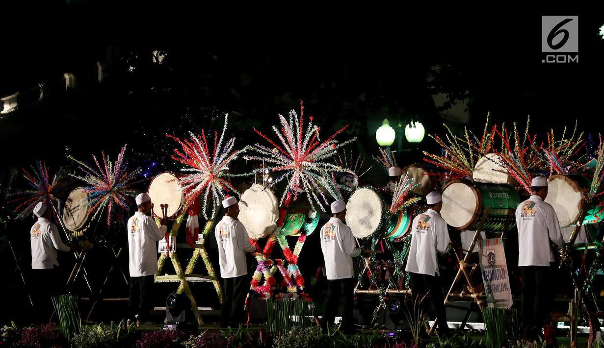 Malam Takbiran, Balai Kota DKI Gelar Festival Beduk - News Liputan6.com