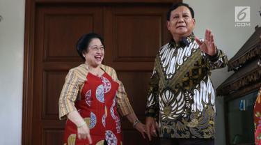 Prabowo Bersama Megawati
