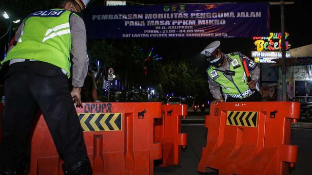 PPKM Darurat di Tangerang