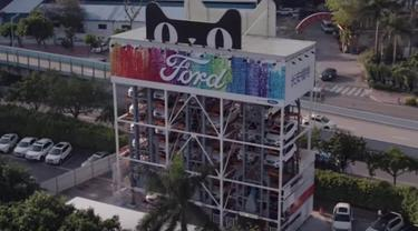 Dealer unik Ford Vending Machine