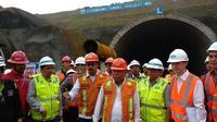 Proyek Terowongan Tol Cisumdawu (Dok Foto: Maulandy Rizky Bayu Kencana/Liputan6.com)