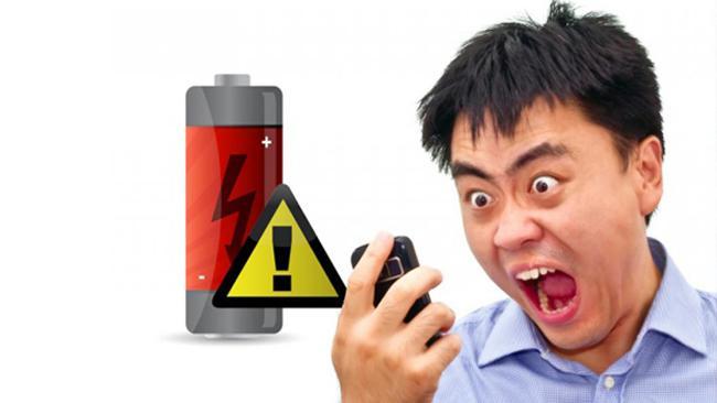 Ilustrasi: Baterai smartphone boros