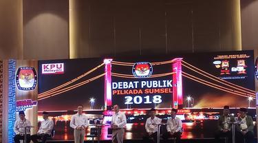 Cagub Aswari Rivai Kenalkan Kartu Sumsel Cerdas di Debat Pilkada