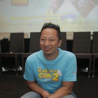 Ringgo Agus Rahman di Premiere Koli Koki Cilik 2 (Nurwahyunan/Fimela.com)