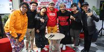 Indra Bekti prescon Hip Hop 29 Mars di kawasan Kemang, Jakarta Selatan, Rabu (19/2/2020). (Adrian Putra/Fimela.com)