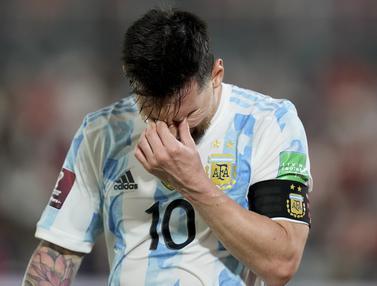 Foto: Lionel Messi dkk. Ditahan Imbang Tanpa Gol oleh Paraguay dalam Kualifikasi Piala Dunia 2022