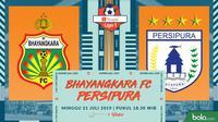 Shopee Liga 1 - Bhayangkara FC Vs Persipura Jayapura (Bola.com/Adreanus Titus)