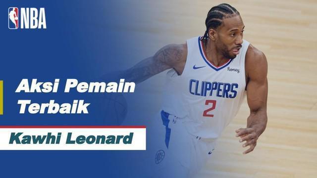Berita Video Aksi-Aksi Kawhi Leonard Saat LA Clippers Kalahkan Utah Jazz di Semifinal NBA Playoffs Hari Ini