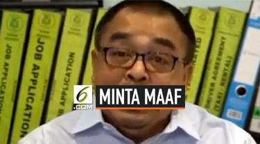 Shamsubahrin Ismail, bos taksi asal Malaysia meminta maaf dan mengklarifikasi atas pernyataannya yang kontroversi yang dianggap menghina rakyat Indonesia. Ia sebelumnya membuat pernyataan menghina rakyat Indonesia miskin.