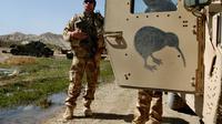 Tentara Selandia Baru bertuags di penempatan Irak dan Afghanistan (AP/Musadeq Sadeq)