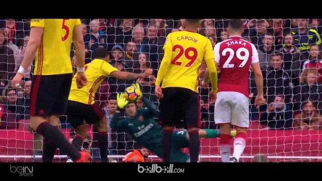 Petr Cech tampil apik saat Arsenal hadapi Watford. This video is presented by Ballball.