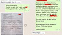 Guru dan Murid Ini Ternyata Beda Sekolah (Sumber: Facebook?harianto.andimatu)