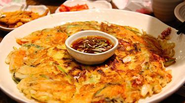 Ilustrasi Pancake Kimchi
