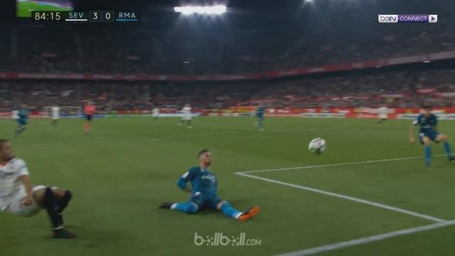 Berita video gol-gol Sevilla saat mengalahkan Real Madrid dalam lanjutan La Liga 2017-2018. This video presented by BallBall.