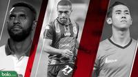 Liga Thailand Ryuji Utomo, Yanto Basna, Terens Puhiri (Bola.com/Adreanus Titus)