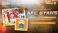 Allianz Walk with The Stars Persija