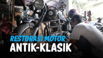 VIDEO: Melirik Usaha Restorasi Motor Antik dan Klasik