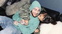 Ariana Grande dan Mac Miller via Instagram Story @arianagrande.