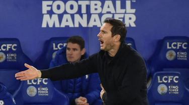 Frank Lampard mengawali karier kepelatihannya setelah gantung sepatu pada 2017 silam di akademi Chelsea, lalu dipercaya menangani Derby County sebagai manajer musim 2018/2019. Pada 2019, dirinya kembali pulang ke Stamford namun dirinya diganti lagi setahun kemudian. (Foto: AFP/Pool/Rui Vieira)
